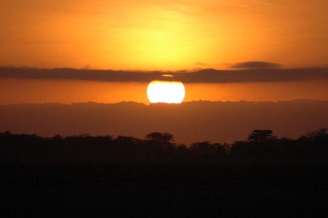 Zdjęcia: Amboselli, Ognista kula, KENIA