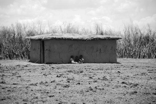 Zdjęcia: WIOSKA MASAJÓW, Masai Mara, Wioska Masajów, KENIA