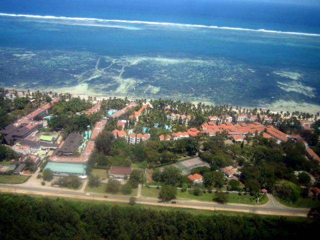 Zdjęcia: w powietrzu, Mombasa, Lot nad Mombasą, KENIA