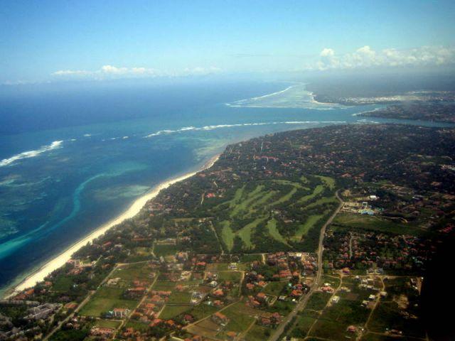 Zdjęcia: awionetka, Mombasa, Lot nad Mombasą 3, KENIA