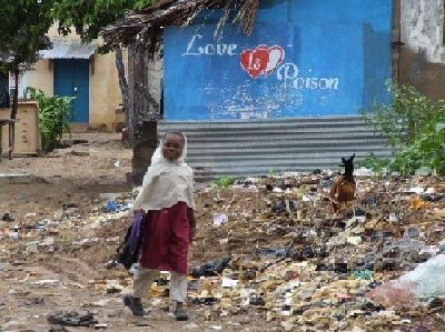 Zdjęcia: Lamu, północna Kenia, Love is a poison, KENIA
