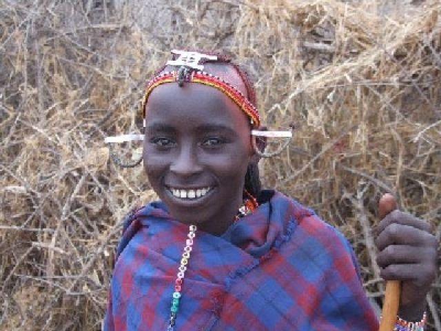 Zdjęcia: wioska masajska, Rezerwat Amboseli, Być wojownikiem maroni, KENIA