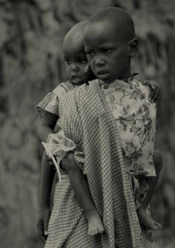 Zdj�cia: wioska masajska, Masaj Mara, ***, KENIA