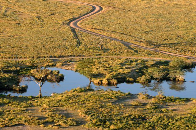 Zdjęcia: Serengeti, Serengeti, widok na sawannę, KENIA