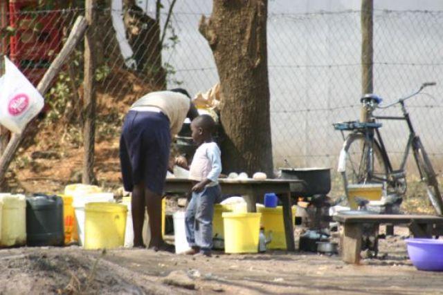 Zdjęcia: Kisumu, Kisumu, Lokalny fastfood, KENIA