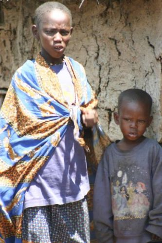 Zdjęcia: Masai Mara, Masai Mara, Dzieciaczki masajskie, KENIA