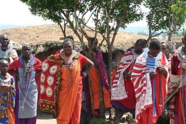 Zdjęcia: Masai Mara, Masai Mara, Masajskie zebranie, KENIA