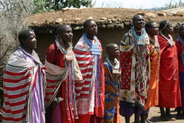 Zdjęcia: Masai Mara, Masai Mara, Niesamowite pieśni masajskie, KENIA