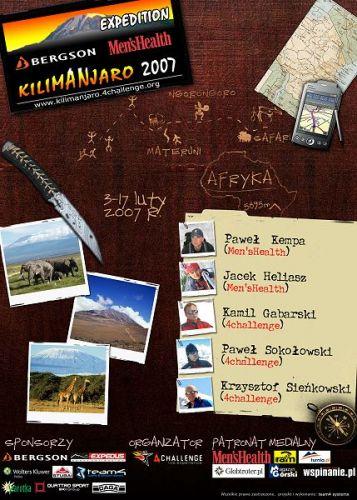 Zdjęcia: Kilimanjaro, Masyw Kilimanjaro, Kilimanjaro 2007 Expedition, KENIA