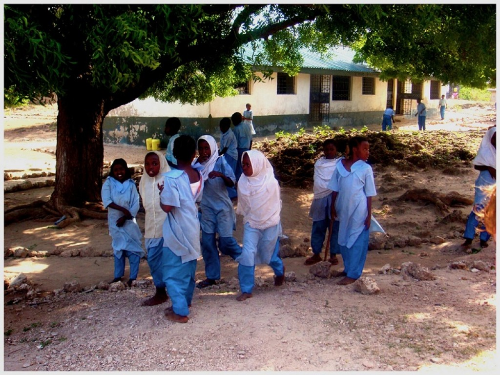 Zdjęcia: Kenia, Szkoła dziecięca , KENIA