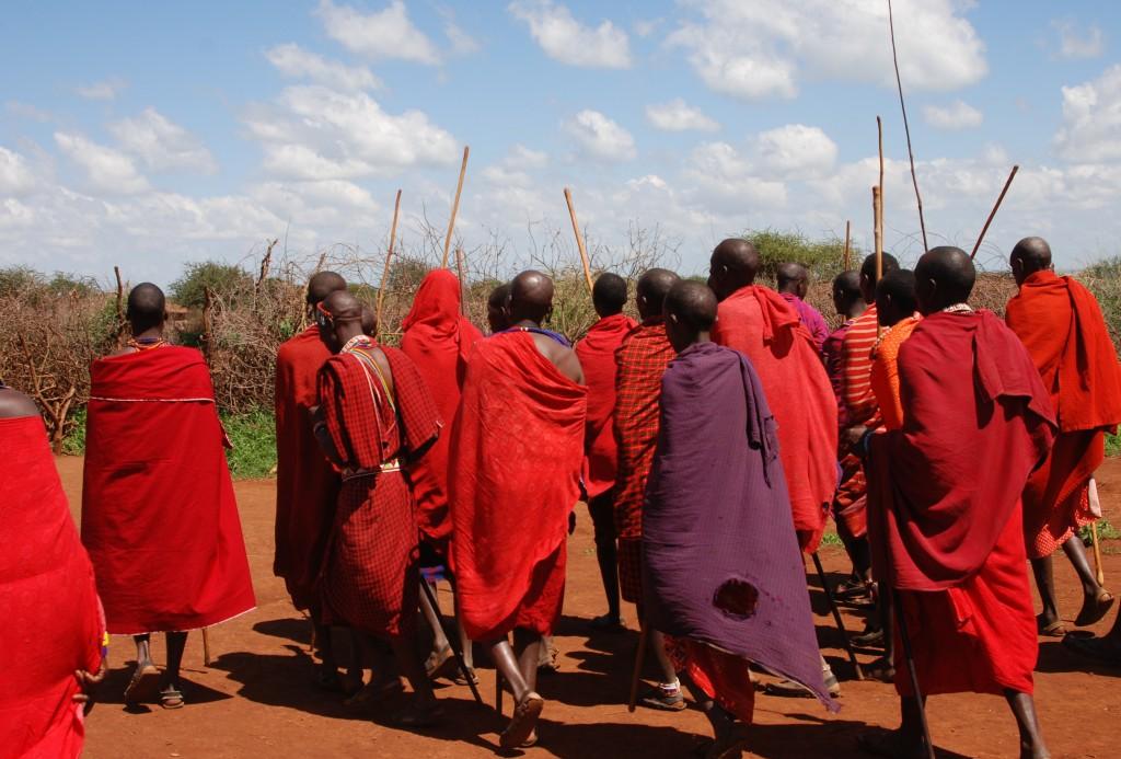Zdjęcia: okolice Kajiado, między Nairobi a wybrzeżem, Masajowie, KENIA