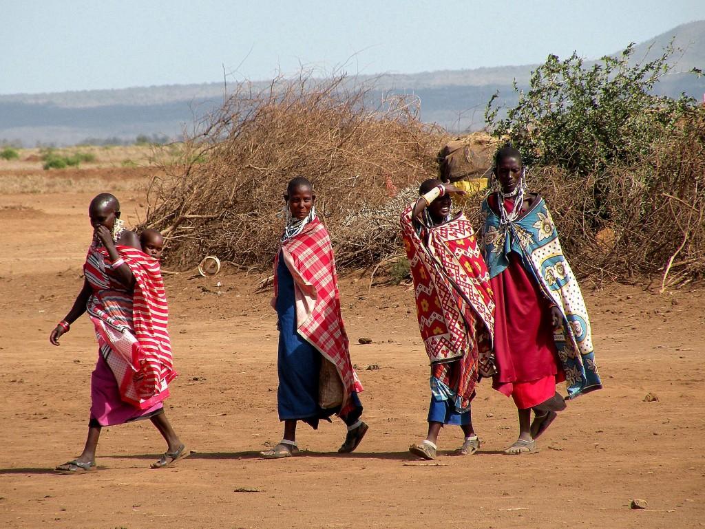Zdjęcia: Amboseli, płd Kenia, Masajki, KENIA