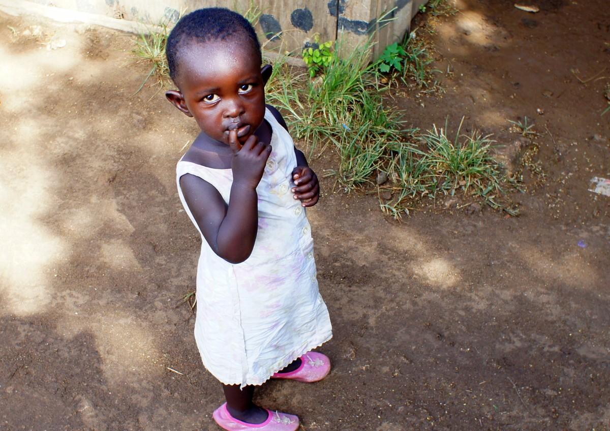 Zdjęcia: Wasini, Goa, Dziewczynka, KENIA