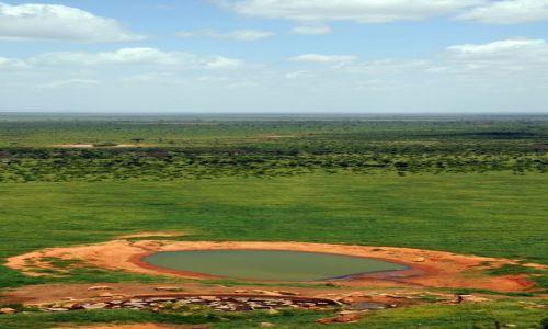 Zdjecie KENIA / Tsavo East  / Tsavo National Park / oko Ziemii
