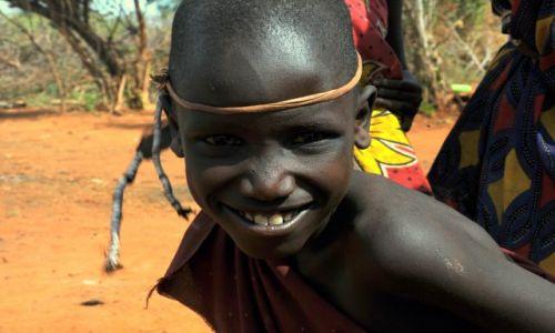 Zdjecie KENIA / Tsavo East / Masai village / berek!