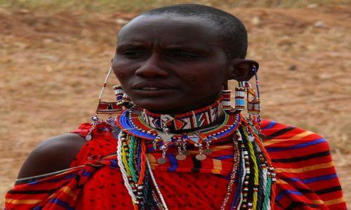 Zdjecie KENIA / Afryka Wschodnia / wioska masajska /