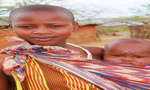 Zdjecie KENIA / - / wioska masajska / wioska masajska