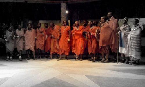 Zdjęcie KENIA / - / Malindi / Masajowie i Masajki