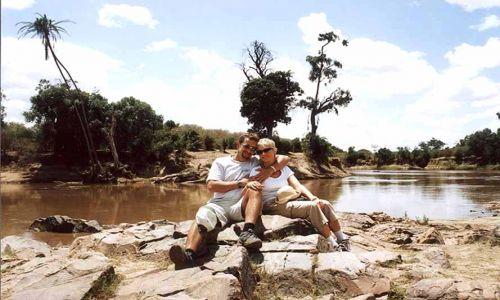 Zdjecie KENIA / Masai Mara / Rzeka MARA (TANZANIA) / Kenia