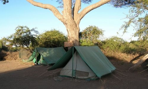 KENIA / . / P.N. Amboseli / nasz obóz