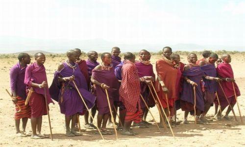 KENIA / . / P.N. Amboseli / Masajowie