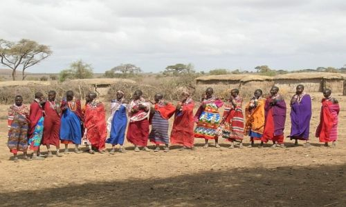 KENIA / . / P.N. Amboseli / Masajki