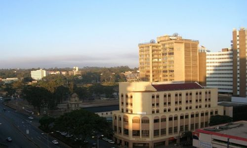 KENIA / . / Nairobi / panorama miasta