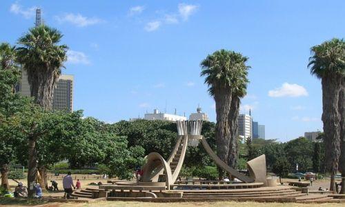 KENIA / . / Nairobi / park Uhuru