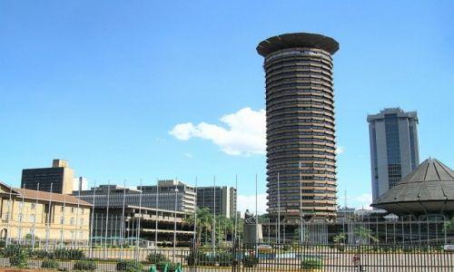 KENIA / . / Nairobi / wieża im. Jomo Kenyatty