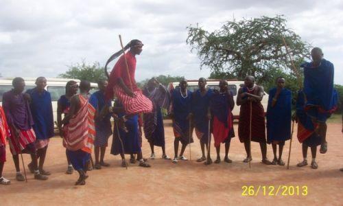 Zdjecie KENIA / Masai Mara / wioska masajska / Sons of Enkai