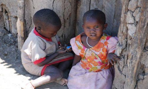 KENIA / MASAI MARA / MASAI MARA Safari / Wioska Masajów