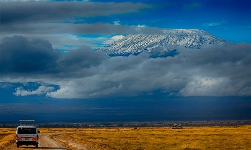 Zdjęcie KENIA / Park Amboseli / Park Amboseli / Bezdroża Kenii