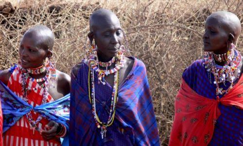 Zdjecie KENIA / płd Kenia / Amboseli / Masajki