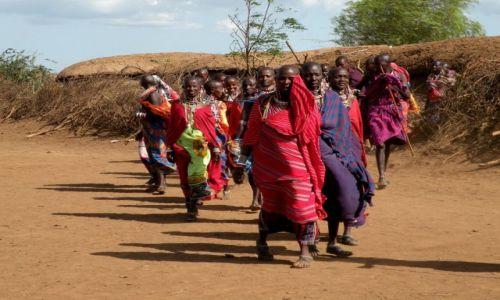 Zdjęcie KENIA / płd Kenia / Amboseli / Masajki