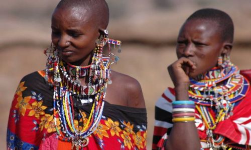 KENIA / brak / Amboselli / Masajki