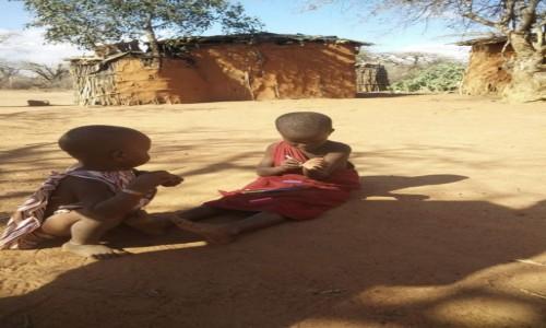 Zdjecie KENIA / Kenia  / Kenia  / Wioska Masaj�w