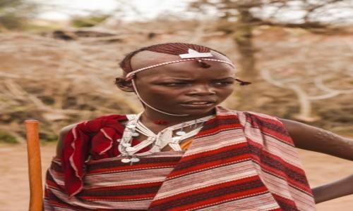 Zdjecie KENIA / - / Wioska Masajów / WIOSKA MASAJÓW