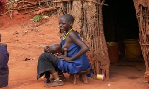 Zdjecie KENIA / Tsavo / - / Wioska Masajów
