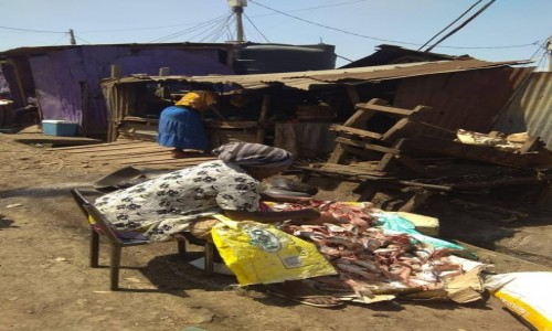 Zdjęcie KENIA / Nairobi / Kibera slum / W Kibera