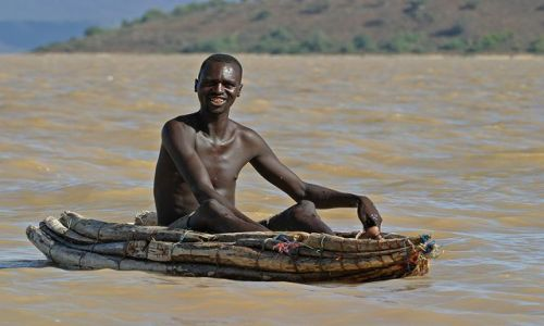 Zdjęcie KENIA / brak / Jezioro Baringo / Na miejscu