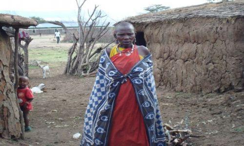 Zdjecie KENIA / brak / Masai Village / Masajka