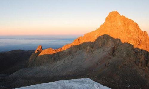 Zdjęcie KENIA / Mount Kenya / Point Lenana - Mount Kenya / Hiking Mount Kenya - Point Lenana