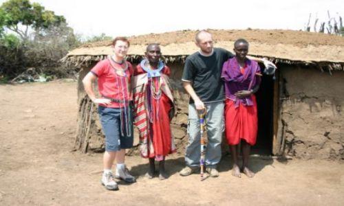 Zdjecie KENIA / Masai Mara / Masai Mara / Masajska gościnność