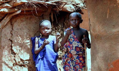 Zdjecie KENIA / brak / Wioska Masajów / Dzieci