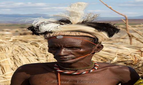 Zdjecie KENIA / brak / Turkana / Wódz Turkana