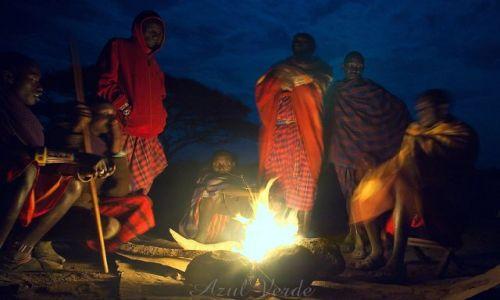 Zdjecie KENIA / brak / Amboseli / Straż nocna