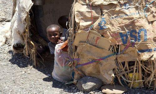 Zdjecie KENIA / brak / Turkana / Amerykański dom