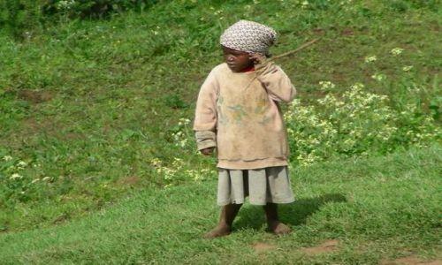 Zdjecie KENIA / Masai Mara / Gdzieś po drodze / Pastereczka