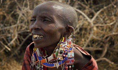 Zdjęcie KENIA / brak / Amboseli / Stara Masajka
