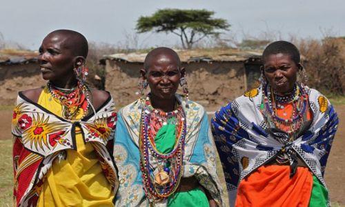 Zdjecie KENIA / Masai Mara / Masai Mara / Dziewczyny do wzięcia